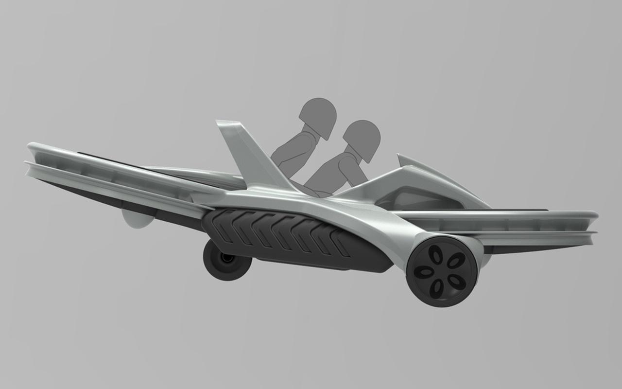 De Aero X hoverbike