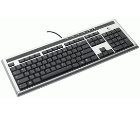 Logitech UltraX Premium Keyboard (Qwerty)