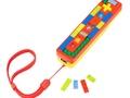 Wii remote van Lego