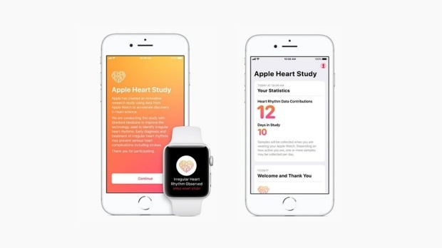 Apple Watch studie Stanford