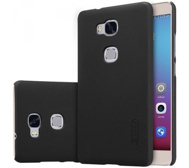 Nillkin Frosted Shield Hard Case voor Huawei Honor 5X - Zwart