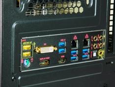 Thermaltake Core X9 achterpaneel moederbord