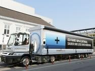 Foto's van Terberg-truck bij BMW