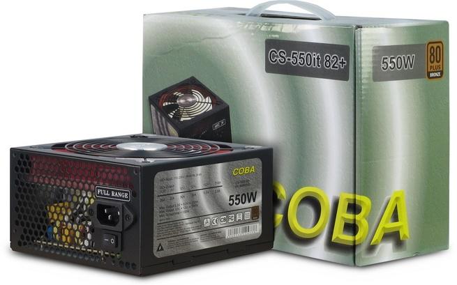 Inter-Tech Coba CS-550it 82+