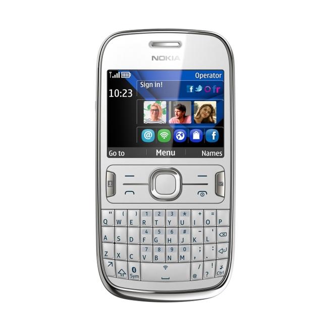 Nokia Asha 302 Wit