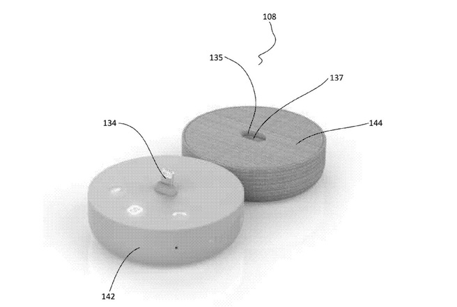 Microsoft patent clamshell dock