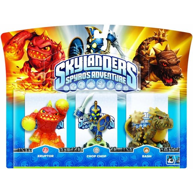 Sky Skylanders Spyro's Adventure (Triple Character Pack Chop Chop, Bash, Eruptor)