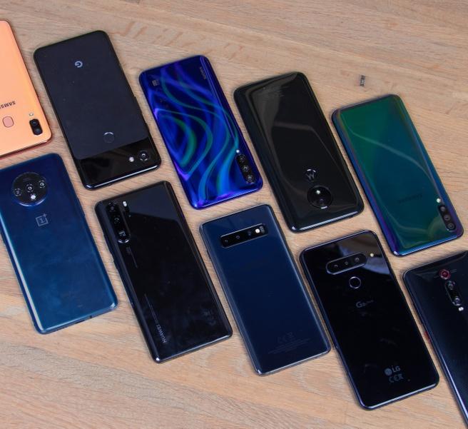 Geteste telefoons, 2019