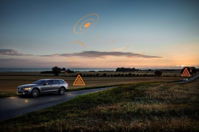 Andere weggebruikers waarschuwen voor gevaren