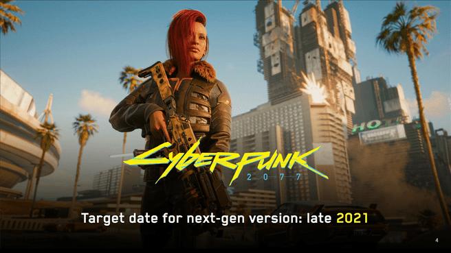 Peningkatan Generasi Berikutnya Cyberpunk 2077