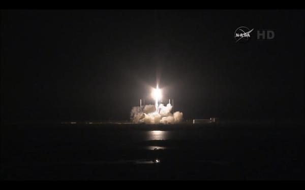 Falcon 9 lift-off