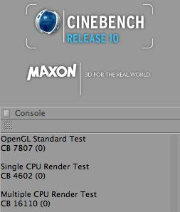 CineBench 10