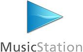MusicStation logo