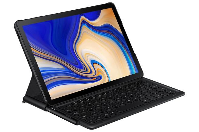 Samsung Galaxy Tab S4 met toetsenbordcover