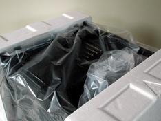 Thermaltake Core X9 verpakking uit de doos onder