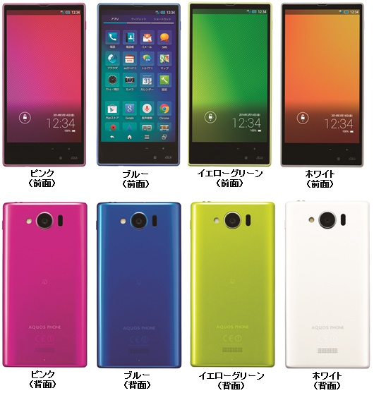 Sharp Aquos-smartphone