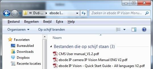 Handleidingen op CD-ROM