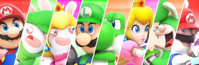 Header Mario + Rabbibs Kingdom Battle