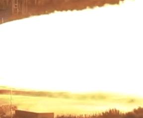 Beelden Space Launch System Qualification Motor 2-test: geen hdr en wel hdr