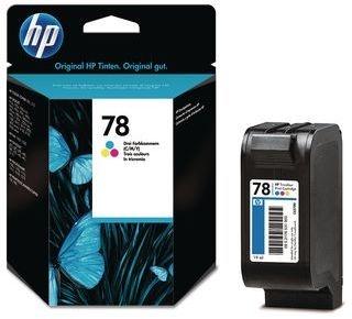 HP 78 Tri-colour Inkjet Print Cartridge