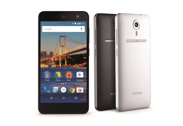 Android One-toestel General Mobile