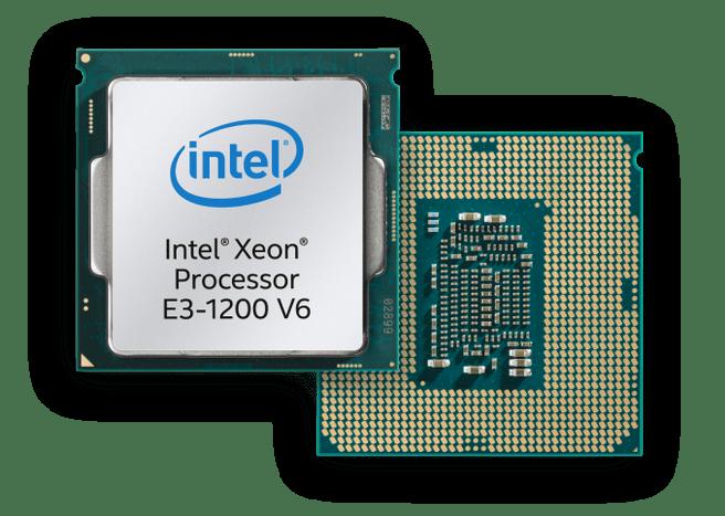 Intel Xeon E3 1200v6