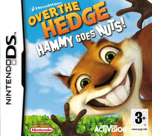 Packshot voor Over the Hedge: Hammy Draait Door