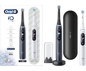 Oral-B iO - 8 - Elektrische Tandenborstels Wit En Zwart, Duopack