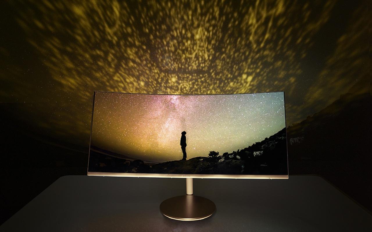 Gebogen Samsung-monitoren: CF791 en CFG70-serie