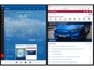 Windows 10X Edge Task View