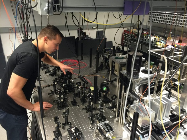 laser beam quantum kwantum