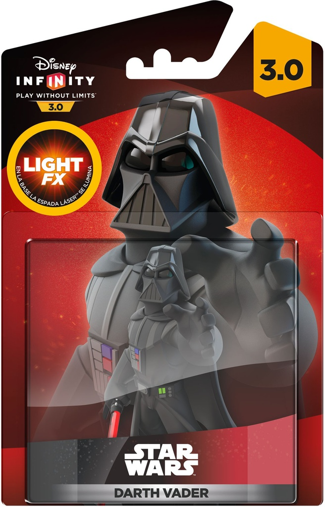 Disney Infinity 3.0 Star Wars Darth Vader Light FX, PlayStation 3, PlayStation 4, Wii U, Xbox 360, Xbox One