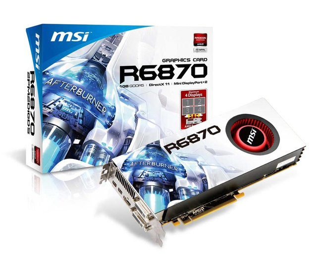 MSI R6870-2PM2D1GD5