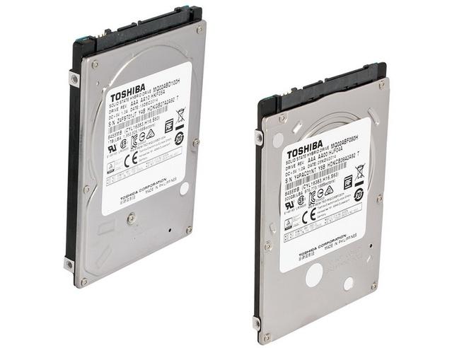 Toshiba MQ02ABD100H MQ02ABF050H