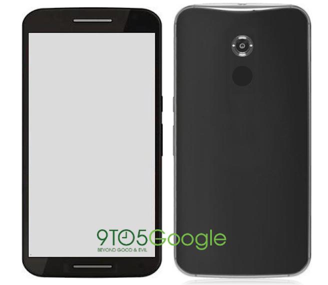 Mock-up van Nexus 6