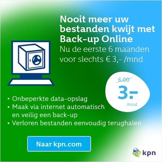 KPN Back-up Online