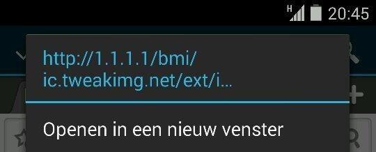 Vodafone-proxy 1.1.1.1