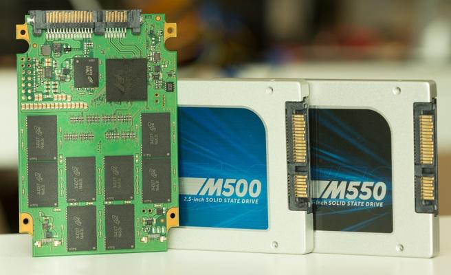 Crucial M550 en M500