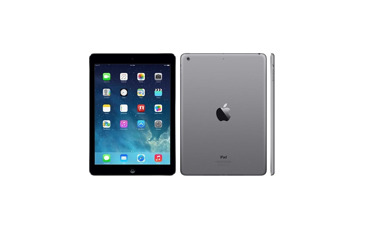 apple ipad air wifi 32gb grijs specificaties tweakers. Black Bedroom Furniture Sets. Home Design Ideas