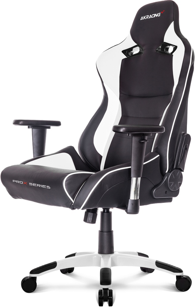 AK Racing ProX Gaming Chair (Zwart/Wit)