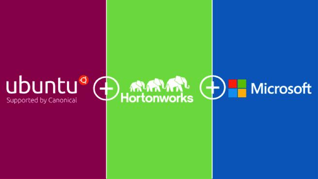 Ubuntu Hortonworks Microsoft