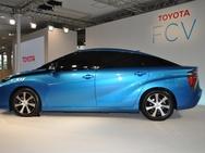 Toyota FCV foto zijkant