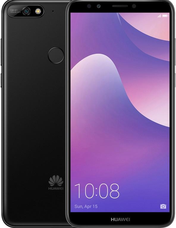 Huawei Y7 (2018) Zwart