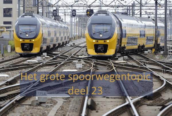 Het grote spoorwegentopic - deel 23