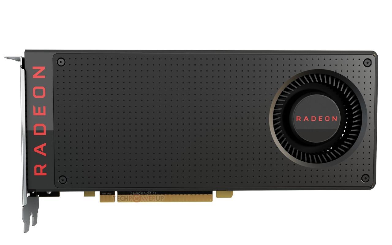 Persafbeeldingen AMD RX480
