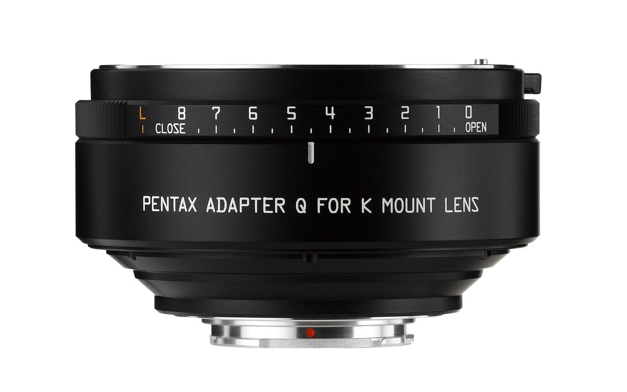 Pentax K naar Q-mount