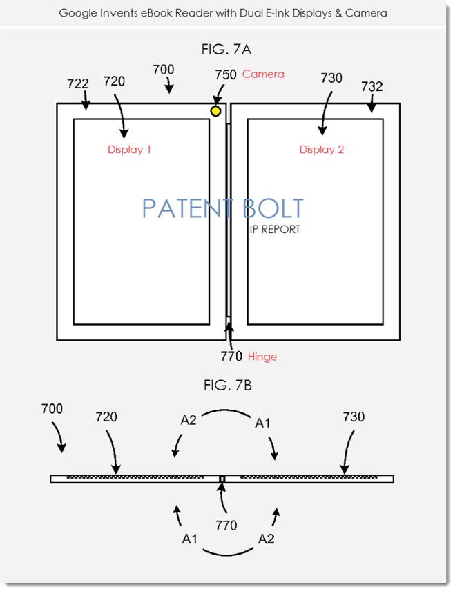 Google e-reader-patent
