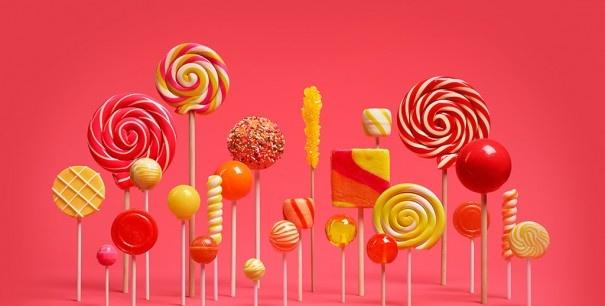 Lollipop sony update