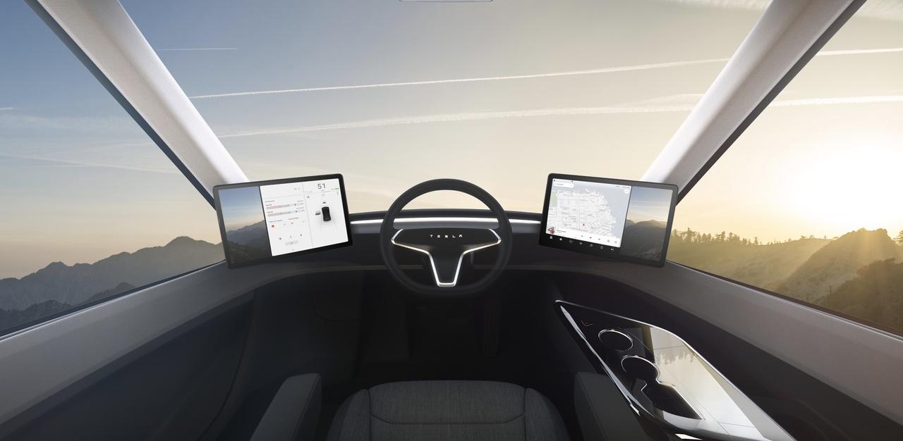 Tesla Introduceert Elektrische Semi Vrachtwagen En Nieuwe Roadster