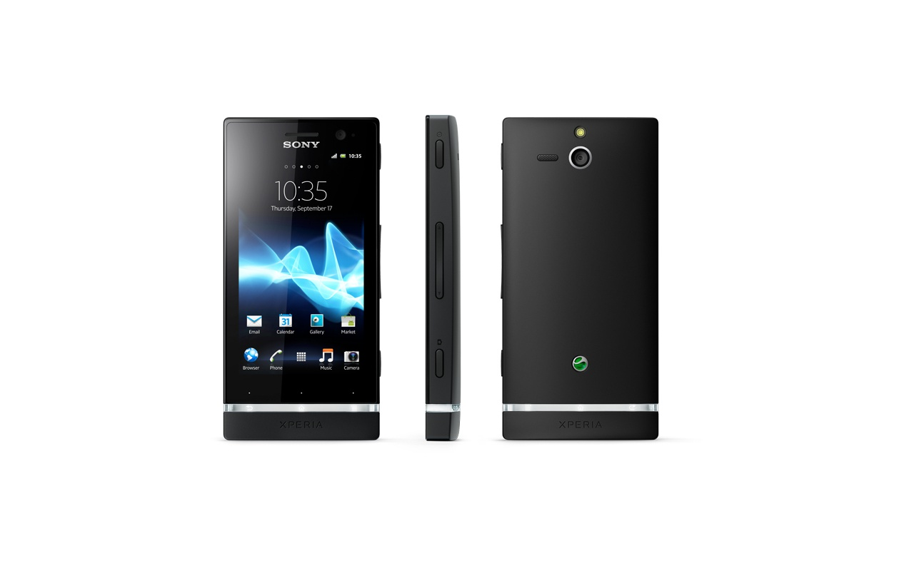 Sony Xperia U Geel